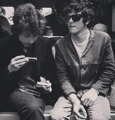 Donovan and Bob Dylan