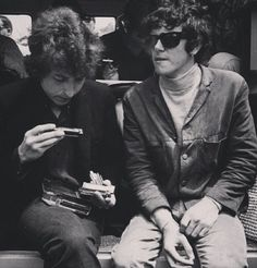 Donovan and Bob Dylan