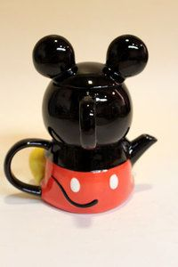 Mickey Mouse Tea For One I think I have to have this!!!!!!!