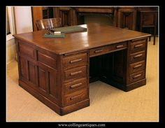 Awesome Two Sided Office Desk
