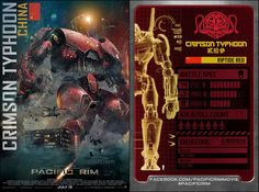 Pacific Rim Trading Cards