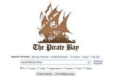The Pirate Bay is secretly running a Bitcoin miner in the background, increasing your CPU usage