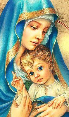 мадонна с младенцем - Схемы вышивки - Армине - Авторы - Портал «Вышивка крестом»
