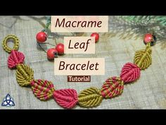 Hi Friends, In this Macrame Tutorial Ill show you How to make Macrame leaf bracelet Pattern .This Macrame pattern is very easy one and in 20 minutes you will master it. Macrame craft willTwo filaments of stocky silver grains make an elegant wrap for the Jewelry Knots, Macrame Jewelry, Macrame Bracelets, Handmade Bracelets, Macrame Knots, Loom Bracelets, Peyote Bracelet, Ankle Bracelets, Silver Bracelets