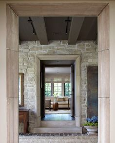 Ideas Stairs Entrance Architecture Foyers For 2019 Stone Stairs, Concrete Stairs, Rustic Stairs, Wooden Stairs, Entrance Foyer, Entrance Hall, Stairs Architecture, Architecture Details, Outdoor Stair Lighting