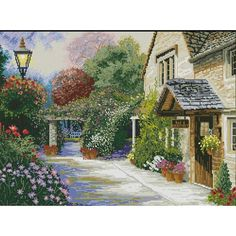 At Days End Counted Cross Stitch Kit