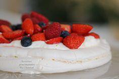 Dessert Pavlova aux fruits rouges: recette inspirée par Christophe Michalak: