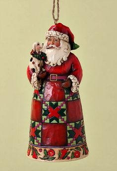 2012 Jim Shore Santa With Puppy Ornament Love Jim Shore Snowmen Why Not