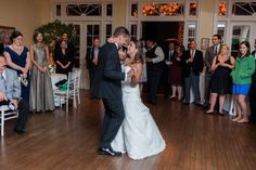 First Dance at City Tavern Club, DC Wedding | Megan Chase Photography