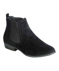 Look at this #zulilyfind! Black Charm Ankle Boot #zulilyfinds