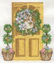 April Doorway - Bunny & Eggs