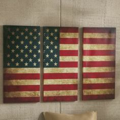 3-Piece Flag Wall Art from Through the Country Door®