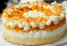 Őszibarackos joghurttorta Cheesecake, Dessert Ideas, Desserts, Food, Cheesecake Cake, Tailgate Desserts, Deserts, Cheesecakes, Essen