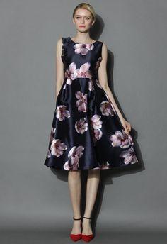 Peach Blossom Prom Dress - Dress - Retro, Indie and Unique Fashion