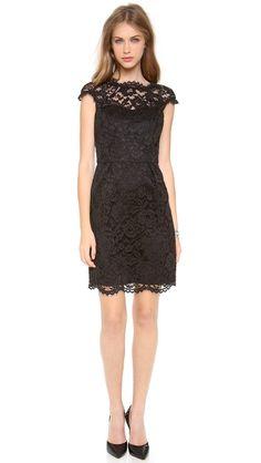 This dress is so beautiful! Shoshanna Lace Olivia Dress