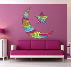 Murales Vicky en gran viaje colorido pared Pegatina de pared lámina klebebild decorativas