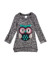 Miss Chievous Sequins Owl Top – Girls 7-16