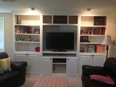 Built In Entertainment Center - by ten4cmor @ LumberJocks.com ...