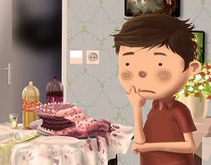 """Check out new work on my @Behance portfolio: """"Who ate the cake"""" http://be.net/gallery/33712866/Who-ate-the-cake"""