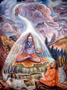 Energy Dissipator, God Shiva and River Ganges.