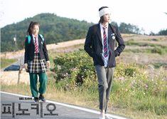 Choi In Ha & Choi Dal Po   Park Shin Hye & Lee Jong Suk. Official still of Pinocchio Kdrama