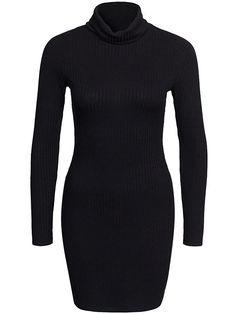 Folded Polo Dress - Nly Trend - Svart - Kjoler - Klær - Kvinne - Nelly.com