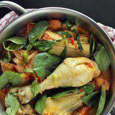 Manado spicy basil chicken Recipe