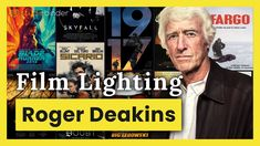 """Roger Deakins on """"Learning to Light"""" — Cinematography Techniques Ep. 1 - YouTube Roger Deakins Movies, Filmmaking Quotes, The Art Of Storytelling, Camera Movements, Best Cinematography, Film School, Skyfall, Hollywood Stars"""