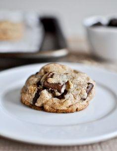 Brown butter oatmeal chocolate chunk cookies recipe