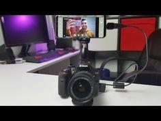 Como usar el movil o tablet como monitor de tu cámara dslr - YouTube Stores, Tablets, Headset, Monitor, Headphones, Electronics, Facebook, Youtube, Music Headphones