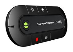 SuperTooth Buddy Bluetooth Visor Speakerphone Car kit-Black Supertooth http://www.amazon.com/dp/B0039YP2VG/ref=cm_sw_r_pi_dp_x6mAwb14PETYR