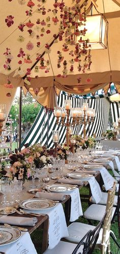 """C&P """"A Midsummer Night's Dream"""" Wedding in Tuscany Event and Floral design: @larosacanina"""