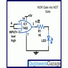 exhaust fan circuit diagram engineersgarage electronics rh pinterest com LED Switch Circuit LED Circuit Projects