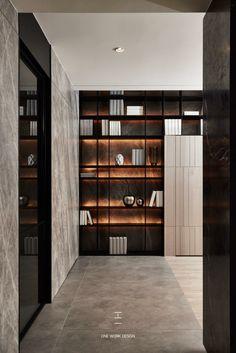 The Best 2019 Interior Design Trends - Interior Design Ideas Office Interior Design, Office Interiors, Modern Interior, Interior Architecture, Wall Shelves Design, Wall Design, Commercial Interiors, Cabinet Design, Living Room Interior
