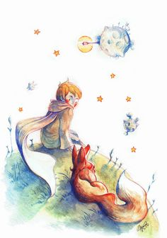 The Little Prince by Asano-nee Der kleine Prinz von Asano-nee Related posts: No related posts. The Little Prince French, Little Prince Fox, Prince Drawing, Little Prince Quotes, Sweet Drawings, Artist Project, Arte Disney, Conte, Belle Photo
