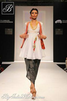 Harshita Chatterjee Deshpande's Collection at Lakme Fashion Week, Winter-Festive 2013