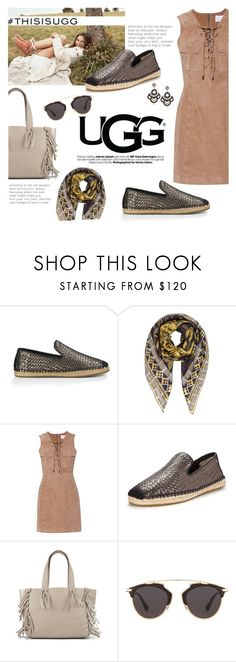 """""""Play With Prints In UGG: Contest Entry"""" by lisalockhart ❤ liked on Polyvore featuring UGG Australia, Valentino, W118 by Walter Baker, Christian Dior and thisisugg"""