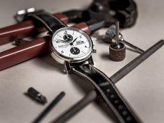 Sensationell schöner Chronograph im Vintage Design - unser Retro Chronograph