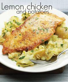 Lemon chicken - a perfect summer meal!