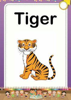 Alphabet Phonics, Teaching The Alphabet, Alphabet Cards, Alphabet For Kids, Teaching Aids, English Lessons For Kids, English Worksheets For Kids, English Activities, Teaching English