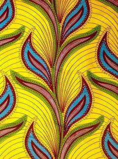 African Print Fabric/ Dutch Wax/ Ankara/ by HouseOfMamiWata African Textiles, African Fabric, African Patterns, African Design, African Art, African Style, African Women, Textile Patterns, Print Patterns