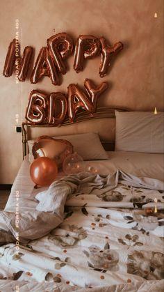 Happy Birthday Art, Birthday Party For Teens, 22nd Birthday, Sleepover Party, Birthday Party Decorations, Birthday Wishes, Girl Birthday, Tumblr Birthday, Birthday Post Instagram