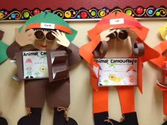 Buzzing About Second Grade: Animal Camouflage Reports and Safari Guide