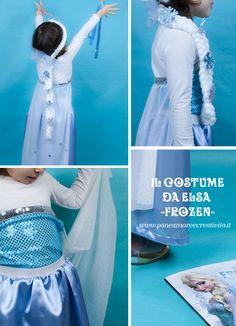 DIY costume elsa frozen (tutorial) Elsa Frozen, Diy Costumes, Cinderella, Tutorial, Crafty, Disney Princess, Halloween, Disney Characters, Kids