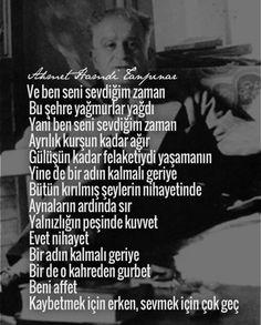 Ahmet Hamdi Tanpınar//////