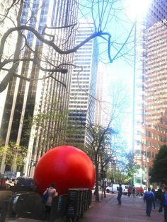Redball Project makes it's way to BART | Market Street, San Francisco