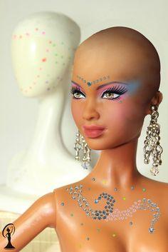 Unique studded Barbie