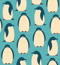 Happy penguins by Silmen