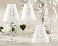 Marcação simples e criativa de mesa.