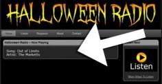 Halloween Radio playing 24 hours a day! I know I have pinned already, but can't find it